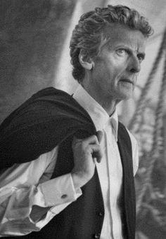 The Twelfth Doctor (Peter Capaldi) Peter Capaldi Doctor Who, Doctor Who 12, 12th Doctor, Twelfth Doctor, Geronimo, Face Of Boe, The Great Doctor, Tv Doctors, Clara Oswald
