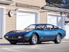 "1972 Ferrari 365 GTC/4 estimate $300,000 - $375,000 and described as ""one of the finest GTC/4's on the planet""."