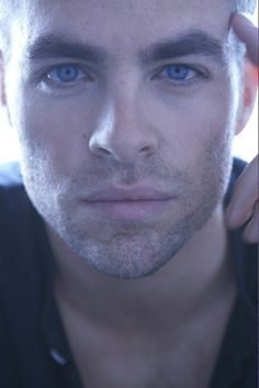 Image result for chris pine eyes closeup