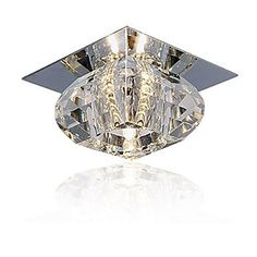 20W Modern/Contemporary Crystal / Mini Style Flush Mount Living Room / Bedroom / Dining Room – CAD $ 26.24