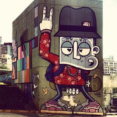 .@Mauricio Zuardi de Souza | Street art (Centro/São Paulo) by #chivitz  #minhau #sampa