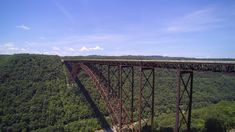 New River Gorge Bridge in West Virginia New River Gorge, Aerial View, West Virginia, Most Beautiful, Bridge, Photos, Pictures, Bridges, Bro