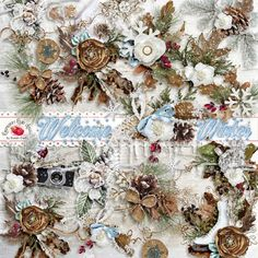 Welcome Winter Side Clusters - $2.99 : Raspberry Road Designs