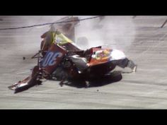 Michael Waltrip Crash at Bristol. Official Footage. Top 10 worst crashes in NASCAR History #2