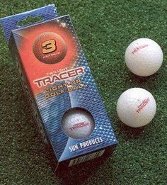 Twilight Tracer Light-Up Golf Balls - Pack of 3 . $24.99