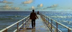 Check out all the awesome dark city ocean pier walking cinemagraph gifs on WiffleGif. Including all the cinemagraph gifs, dark city gifs, and beautiful gifs. Jennifer Connelly, Rufus Sewell, Dark City, Cinemagraph Gif, Surf, Wordpress, Still Frame, Light Film, Gif Photo