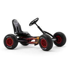 BERG Buddy Hot Rod - one sweet pedal go-kart!