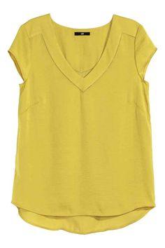 Camiseta de satén | H&M
