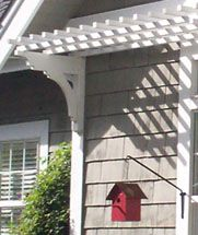my pergola above the garage started with the brackets from this great place. turned out better than great.