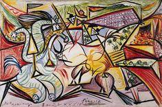 """""""La Corrida,"""" by Pablo Picasso"""