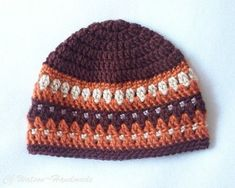 Crochet month Baby Boy Hat and Scarf Set Chocolate Brown Burnt Orange Taupe and Cafe Brown Mens Crochet Beanie, Knitted Hats, Crochet Hats, Hat And Scarf Sets, Baby Boy Hats, Baby Month By Month, Little Boys, Baby Gifts, Knitting