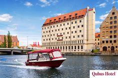 Q-boat in Qubus Hotel Gdańsk