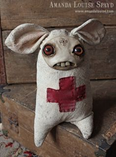 Amanda Louise Spayd - I love her work.  I desperately need this little medic!