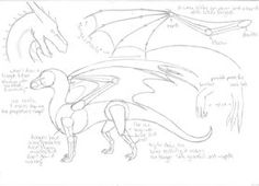 tutorial - how to draw a dragon by Ferania