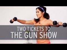 Tone your triceps, chest, and shoulders with trainer Kelsey Lee as she takes you through this upper body workout routine. Beginner Upper Body Workout, Upper Body Workout For Women, Dumbbell Workout, Kettlebell, Kelsey Lee, Fitness Tips, Fitness Motivation, Fit Board Workouts, Workout Videos