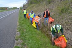 Great American Cleanup- Southeast Ohio (April 2012)