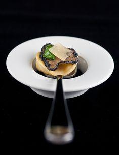 Black Truffle Explosion, Romaine, Parmesan