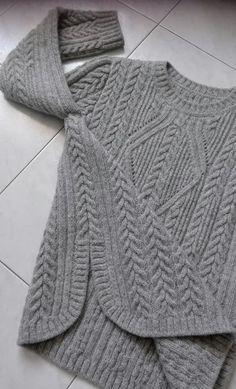ВЯЖЕМ ТОЛЬКО СПИЦАМИ)))))))))))))))(Крючком нет) Knitting Room, Knitting Needles, Knitting Stitches, Hand Knitting, Knitting Designs, Knitting Projects, Knitting Patterns, Cable Knit, Cable Sweater