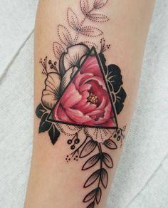 Flor por Jessy d tattoo