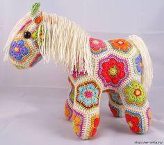 Hevonen afrikankukkasista