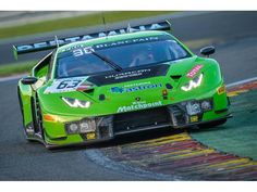 Lamborghini - The Lamborghini Huracán GT3 proves itself in the Total 24h of Spa in the Blancpain Endurance Series Image : Lamborghini Huracan GT3 front