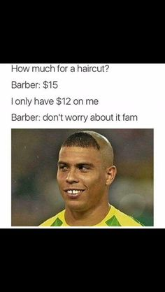 er ok shaves off whole head Barber Say No More, Barber Memes, Post Quotes, I Quit, Cool Haircuts, Laugh Out Loud, Dumb And Dumber, No Worries, Laughter
