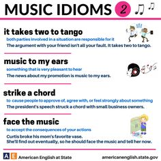Music Idioms 2