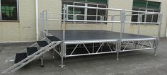 Portable stages | Mobile stages | Stage Platform | stage systems - RK Smilestage(R)