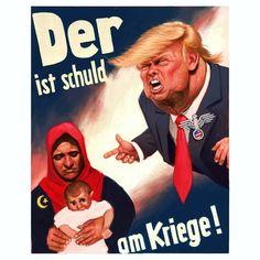 Image result for trump as nazicartoons