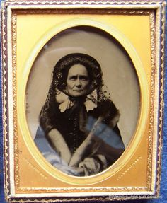 tooled-leather-frame-July-1854-Daguerreotype-1-4-plate-lace-furs-stare-detailed