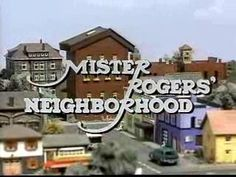 Better than Romper Room, because the mirror never saw me and she never called my name.  So Mr. Rogers' Neighborhood made me smile after crying my eyes out every day from not hearing my name.  Stupid Magic Mirror!