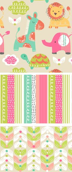 wendy kendall designs – freelance surface pattern designer » jungle