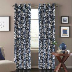 Penelope Window Curtain Panel in Blue