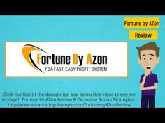 Check out this exclusive review of the Social Mobi Videos and Fortune By Azon, and learn about the advantages and dis-advantages of these products -- Selling Products On Amazon --- https://www.youtube.com/watch?v=iRF883nk-m8