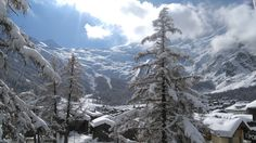 Saas Fee, Mount Everest, Mountains, Nature, Travel, Outdoor, Winter Landscape, Outdoors, Naturaleza