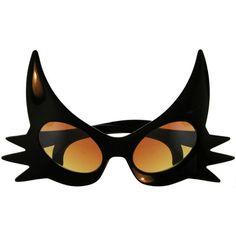 Extreme Cat Eye Glasses found on Kitschy Living