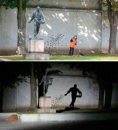 圧倒的なインパクトを持つストリートアート | ひらめき箱