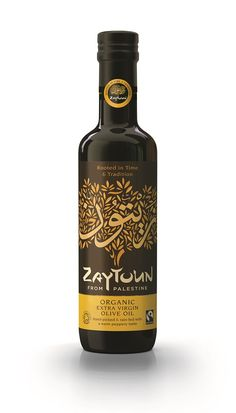 Organic & Fairtrade award-winning olive oil