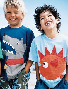 Cute appliqué to upcycle boys shirts