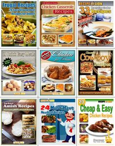 Recipes why are we so obsessed with finding recipes because food find 239 delicious dinner recipes in this free ebook collection these 9 free downloadable ecookbooks have plenty of meal inspiration for you and your fandeluxe Choice Image