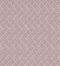 Rhombus Fabric by Clarke & Clarke | Jane Clayton Greek Key, Key Design, Equinox, Trellis, Basket Weaving, Chevron, Fabric, Scale, Dining