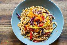 Rainbow Nudeln / Rainbow noodles
