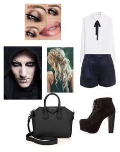 """""""Dinner with Chris Motionless"""" by music-ate-my-soul ❤ liked on Polyvore featuring moda, MANGO, 3.1 Phillip Lim, Charlotte Russe e Givenchy"""