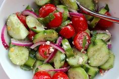 Marinated Cucumber Tomato Salad Recipe - Food.com