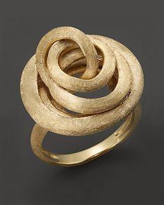 18K Marco Bicego Jaipur link ring @Lucia Rovira