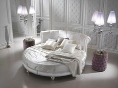 High End Modern Blue Velvet Ottoman Storage Bed - Juliettes Interiors Luxury Furniture, Bedroom Furniture, Home Furniture, Bedroom Decor, Bedroom Ideas, Bedroom Inspiration, Circle Bed, Ottoman Storage Bed, Round Beds