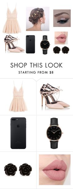 """""""Date Night 1"""" by immig2003 on Polyvore featuring Alexander McQueen, Fratelli Karida, Topshop, Erica Lyons, DateNight, Pink, black and fashionset"""