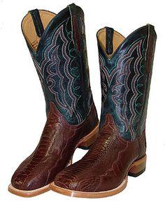 Cinch Men's Exotic Chestnut Ostrich Leg Boots [CFM538]