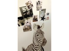 Magneet behang dierenprint zebra Groovy Magnets 2