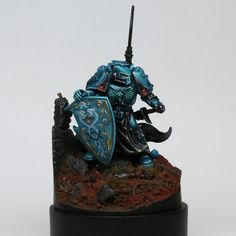 Space marine with possible Eldar influence?